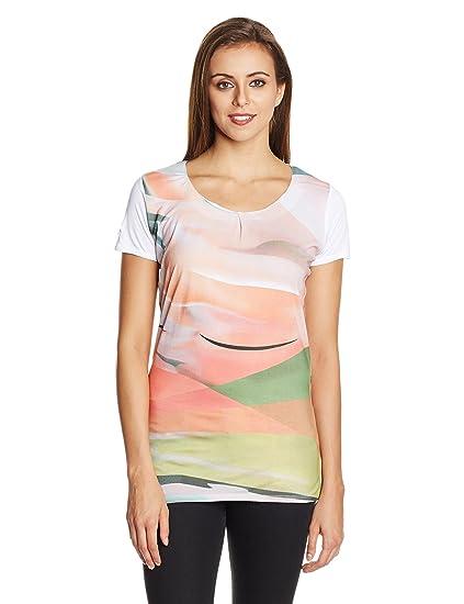 Jealous 21 Women's Abstract T-Shirt Tees at amazon
