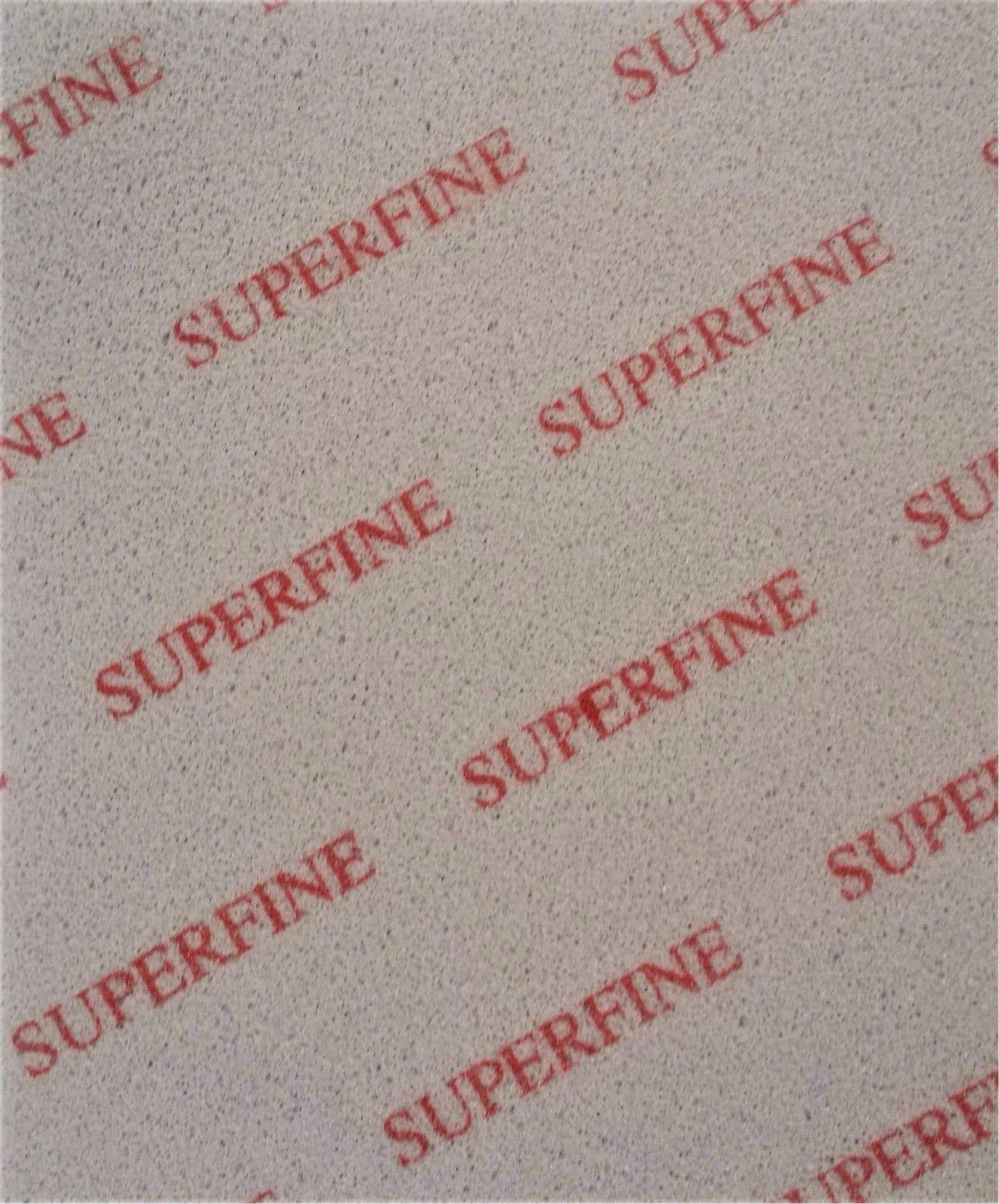 20pc Micro Ultra Super Fine Medium Softback Sanding Sponge Detailing Abrasive (Superfine)