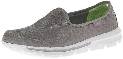 07d2d57b1c51 Image Unavailable. Image not available for. Colour  Skechers Go Walk-Safari  Women Silver ...