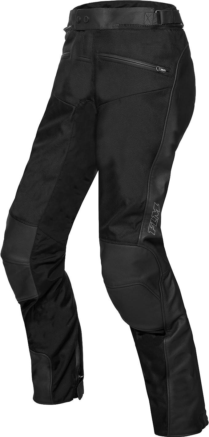 Mohawk Motorradhose Touren Leder Textilhose 3 0 Schwarz Bekleidung