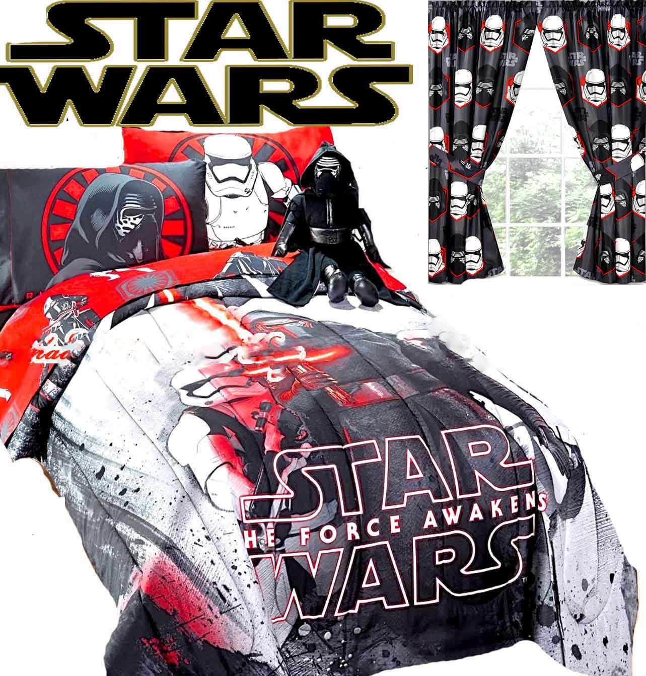 Disney STAR WARS EPISODE VII Comforter Sheet Set