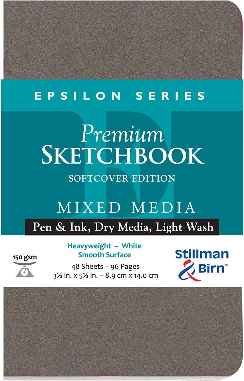 Epsilon Softcover Sketchbook 3.5X5.5