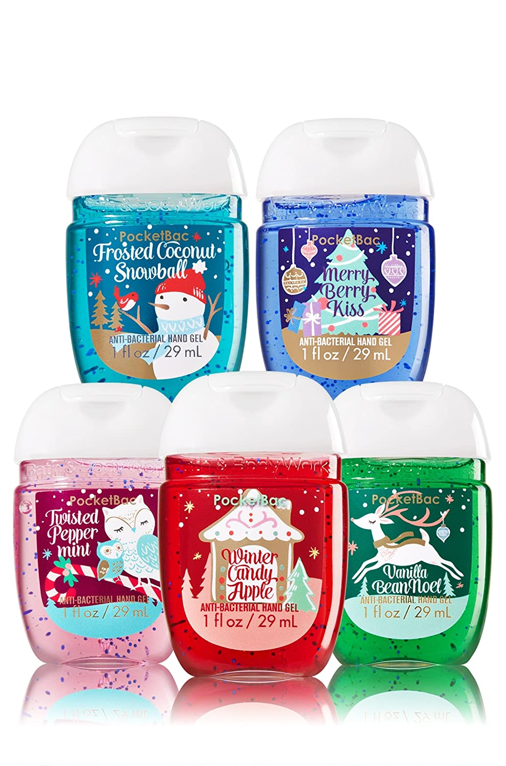 Bath and body works holiday scents - Amazon Com Bath Body Works 5 Pack Pocketbac Holiday Traditions Bundle Hand Sanitizers Bath And Body Works Holiday Traditions Bundle Sanitizer Beauty