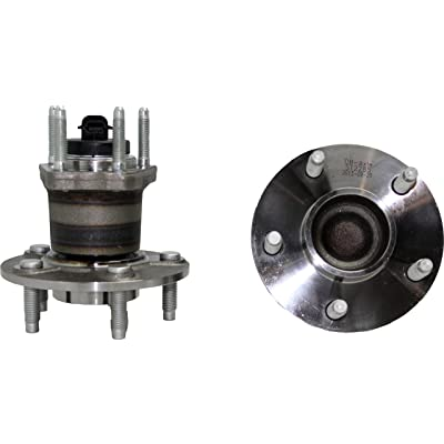 Detroit Axle 512285 Rear Wheel Hub and Bearing Assembly 5-Lug w/4-Wheel ABS Only fits Chevrolet classic Cobalt HHR Malibu - Pontiac G6 - Saturn Aura: Automotive