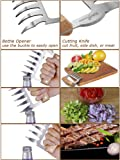CMflower Metal Claws Stainless Steel Meat