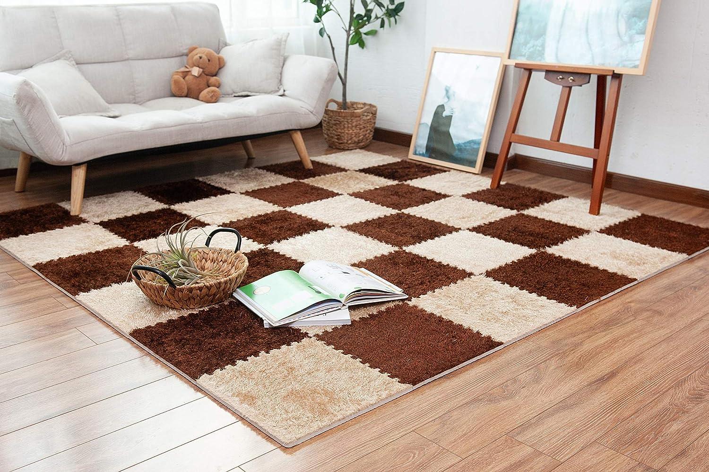Carpet Squares Foam Area Rug 9 pcs/Set 35