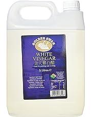 Golden Swan White Vinegar, 5 Litre, Pack of 4