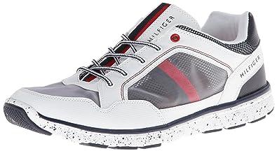 Tommy Hilfiger Men's Krone Fashion Sneaker,White,11 ...