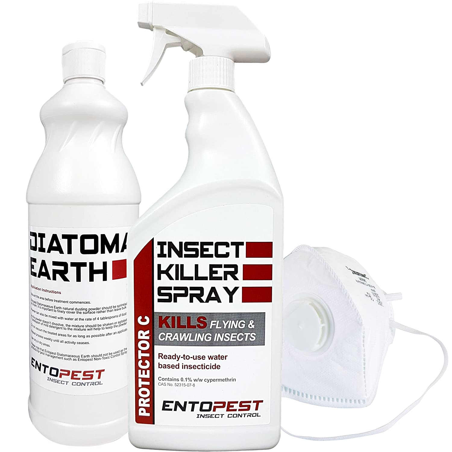 Entopest Silverfish Spray & Powder Treatment Killer Kit - Professional Strength Control Seahaven Limited