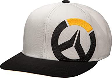 Authentic OVERWATCH Junkrat Embroidered Logo Snapback Hat NEW
