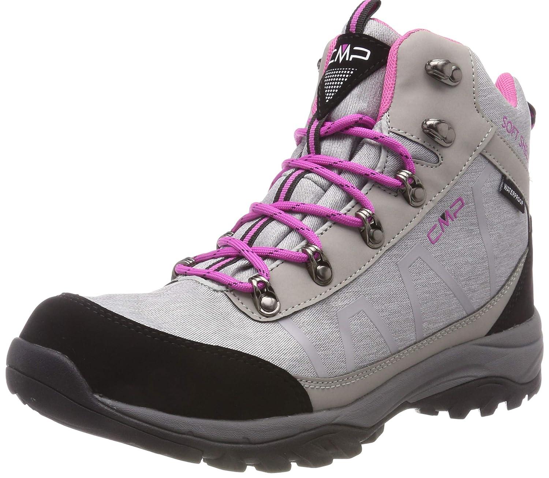 Argenté (argent Mel. U403) 40 EU C.P.M. Soft Naos, Chaussures de Trekking et Randonn&Eacutee Femme, gris