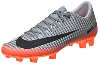 quality design 9cc71 3b099 Nike Mens Mercurial Victory VI CR7 (FG) Firm Ground Soccer Cleat Cool Grey