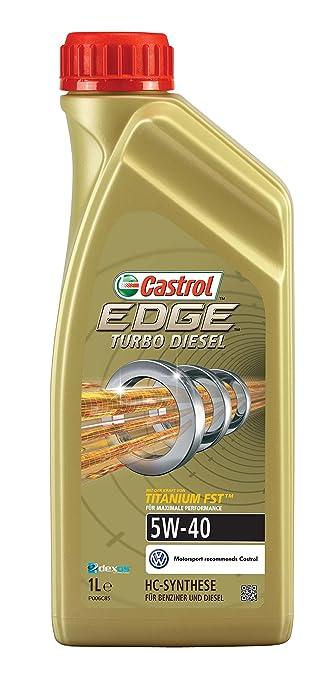 14 opinioni per Castrol Edge 5W-40–Olio motore sintetico