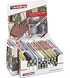 Edding 4-51125 - Rotuladores para vidrio, metal y papel (750/751/780, 44 unidades en caja de cartón)