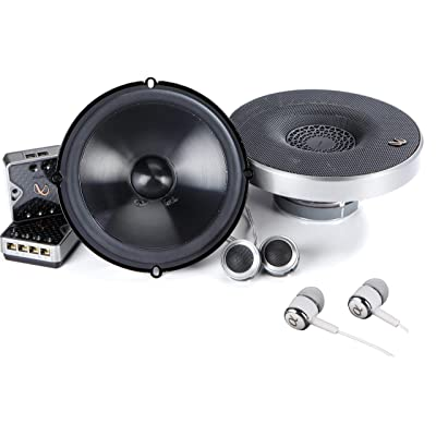 Infinity Primus PR6510CS 480W Max (160W RMS) 6.5 Inch Primus Series 2-Way Car Component Speakers System Set with ALPHASONIK Earbuds: Electronics
