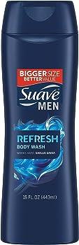 Suave 15 Fl Oz Men Body Wash