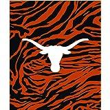 "College Covers Texas Longhorns Super Soft Raschel Throw Blanket, 50"" x 60"""