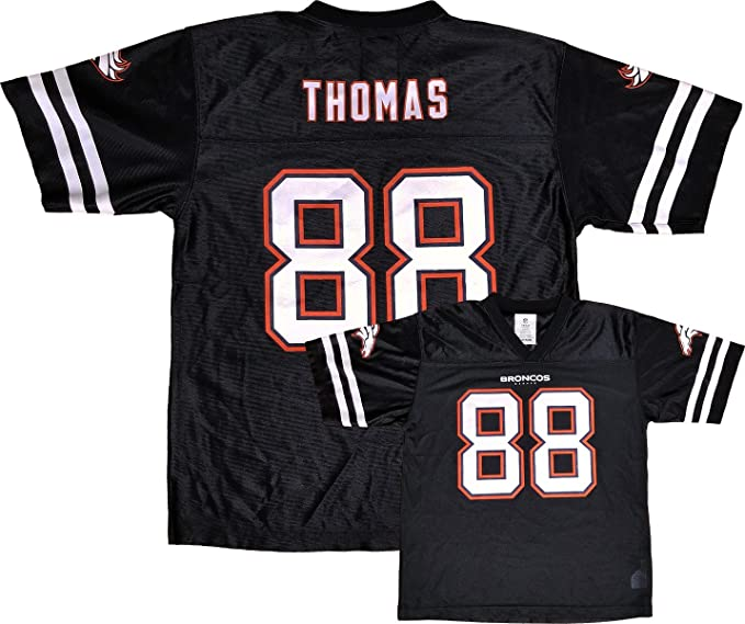Outerstuff Demaryius Thomas Denver Broncos Blackout Player Jersey Youth  (Small 8) 959599216