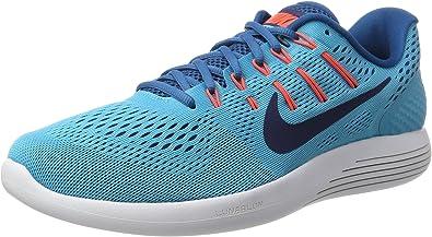 Nike Lunarglide 8, Zapatillas de Entrenamiento para Hombre, Azul ...