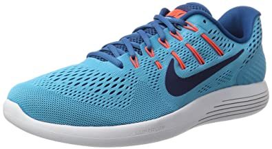 hot sale online 1de05 7e5ae Nike Men s Lunarglide 8 Training Shoes, Blue (Chlorine Blue Binary Blue -Industrial