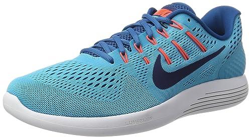 Nike Lunarglide 8, Zapatillas de Entrenamiento para Hombre, Azul (Chlorine Binary Blue-Industrial BLU), 45.5 EU: Amazon.es: Zapatos y complementos