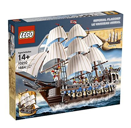 Amazoncom Lego Pirates Imperial Flagship 10210 Discontinued By