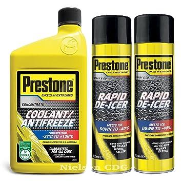 Prestone Líquido Concentrado anticongelante refrigerante 1L + ...