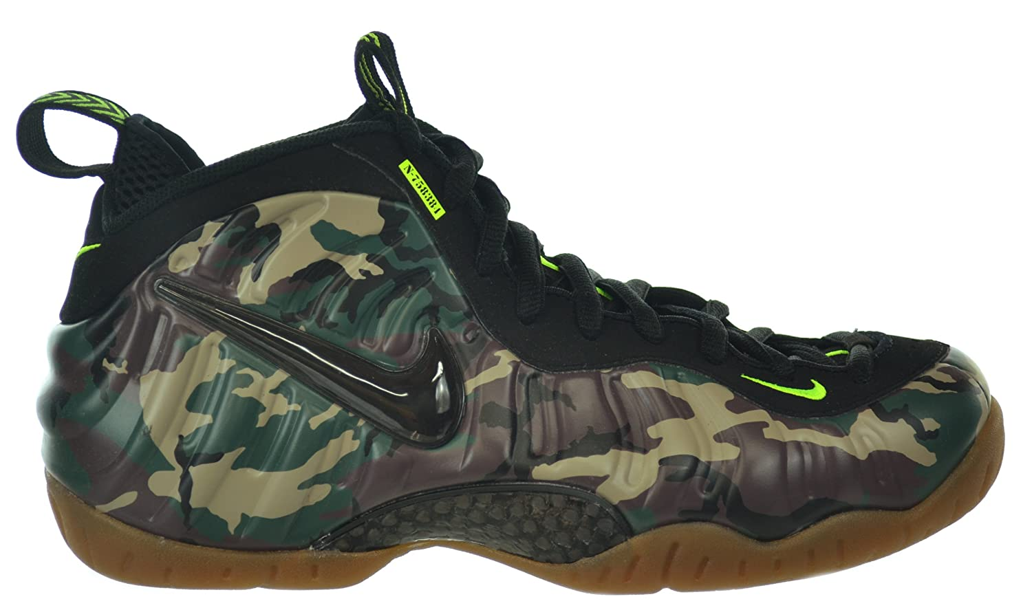 check out d50c5 9e517 Amazon.com   Nike Air Foamposite Pro PRM LE Camo Men s Basketball Shoes  Forest Black   Basketball
