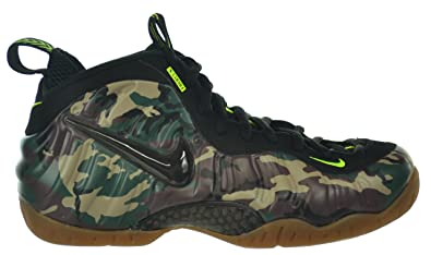 Nike Mens Air Foamposite Pro PRM LE \u0026quot;Army Camo\u0026quot; Forest/Black  Synthetic