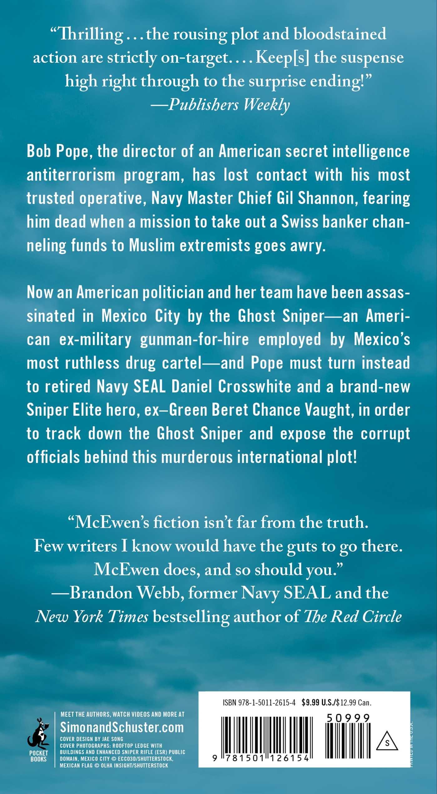 Amazon com: Ghost Sniper: A Sniper Elite Novel (9781501126154