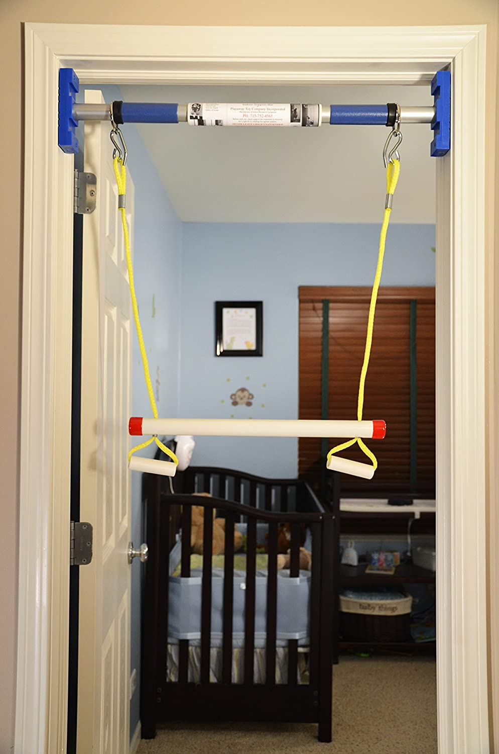 Rainy Day Playground Indoor trapeze bar (to be used with support system) Playaway Toy Co.