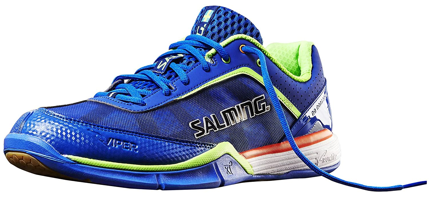 Salming Viper 3.0 Royal/Gecko Green Indoor Court Shoes