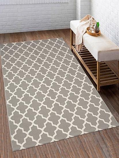 Saral Home Cotton Multipurpose Handloom Rugs (90x150cm)