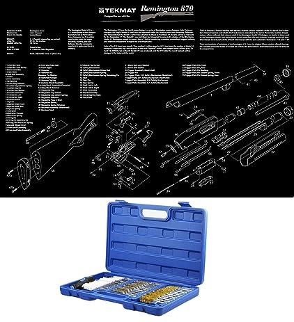 Amazon Com Ultimate Arms Gear Remington 870 Poster Gun Schematics