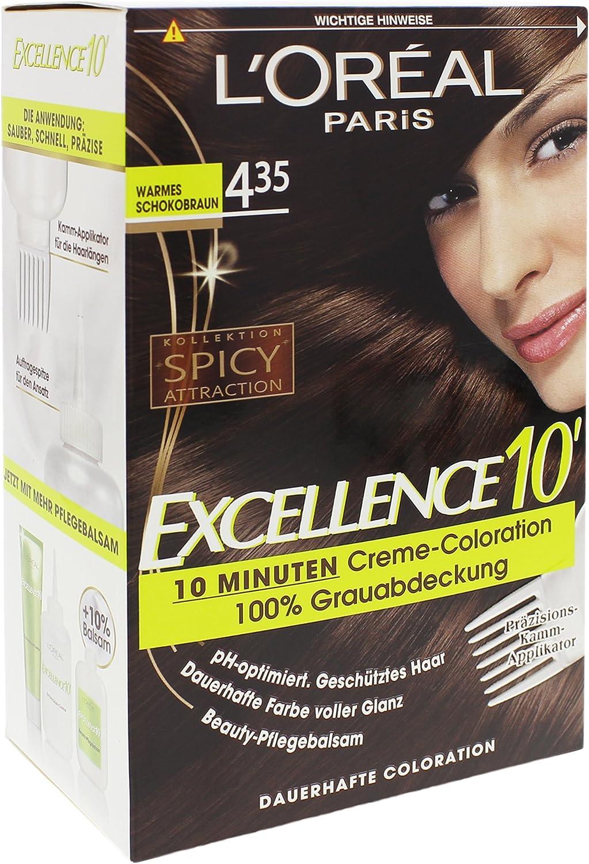 Excellence 10 Coloration 4.35 - Tinte para el pelo, color ...