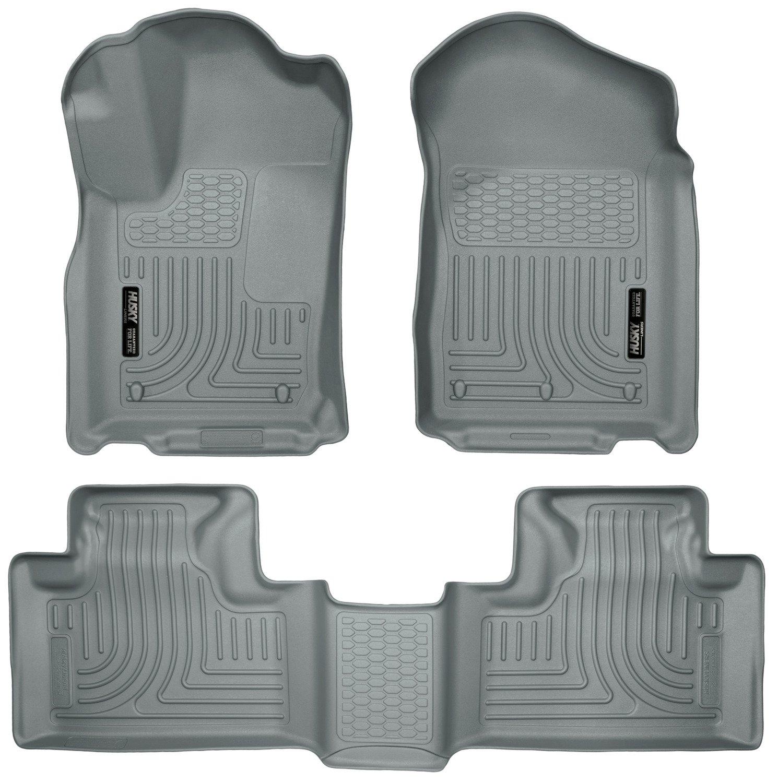 Husky Liners Front & 2nd Seat Floor Liners Fits 11-15 Durango/ Grand Cherokee
