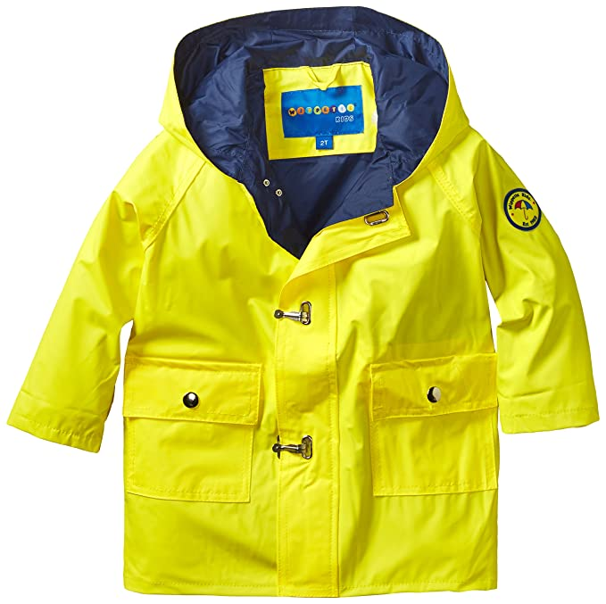ae15586d8 Amazon.com: Wippette Little Boys' Solid Raincoat: Clothing