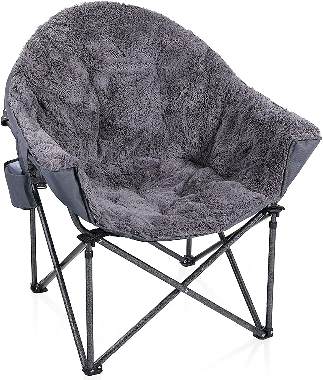 ALPHA Camp Plush Moon Chair