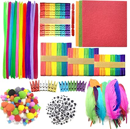 Needle Felt Supplies Pipe Cleaners Chenille Stems