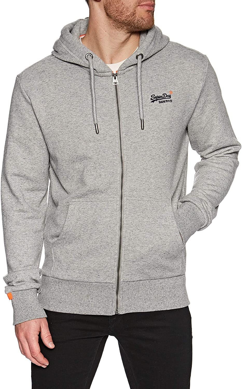 Superdry Orange Label Classic Zip Hood Felpa Uomo