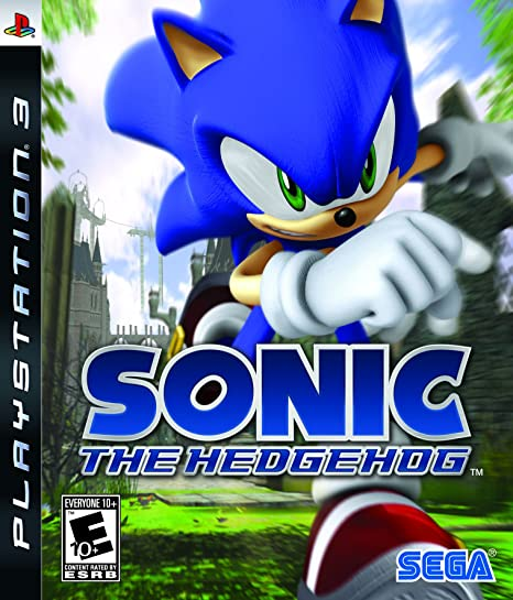 Amazon Com Sonic The Hedgehog Playstation 3 Artist Not Provided Video Games