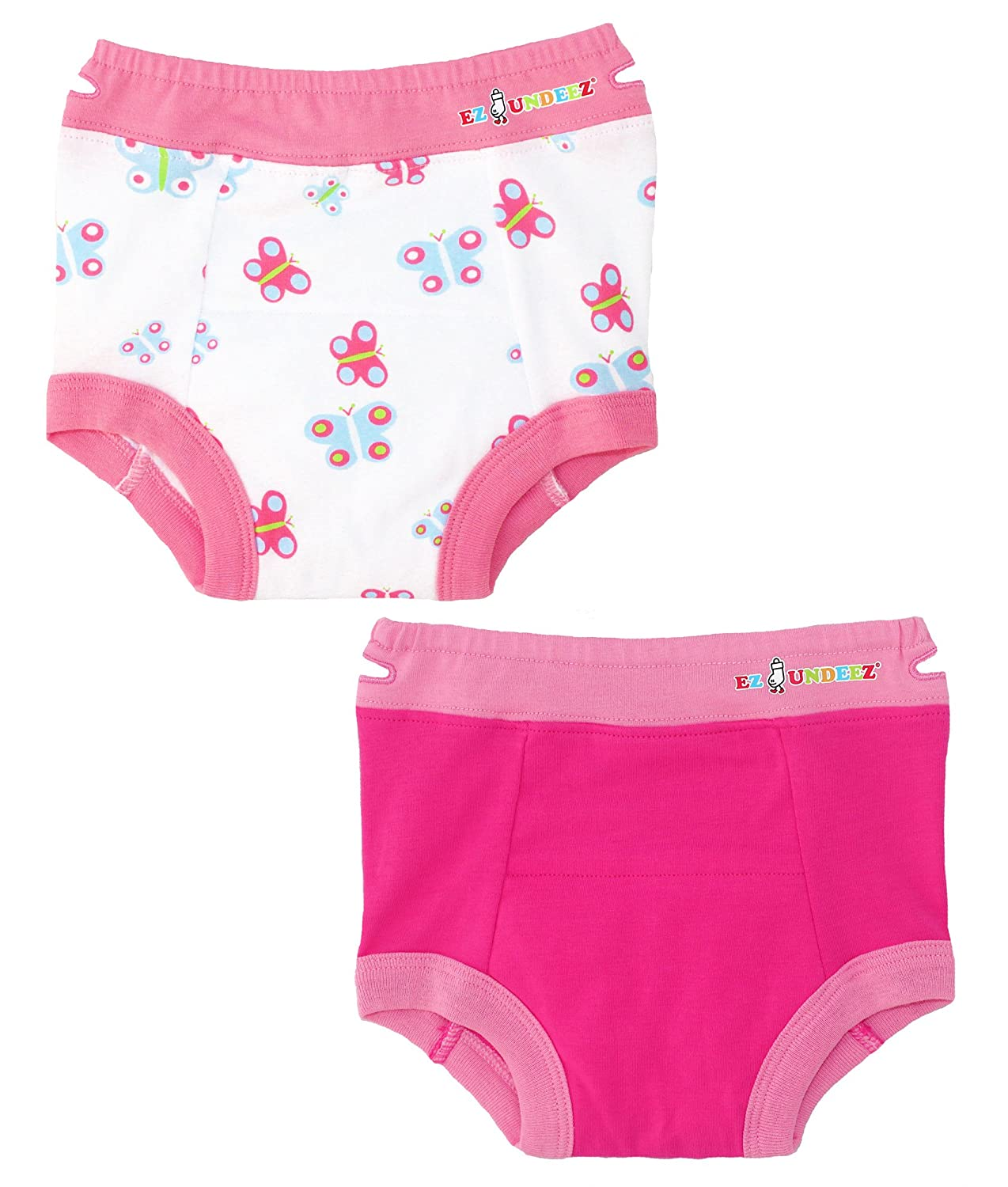 Ez Undeez Toddler Underwear Girls Padded Potty Training Pants Easy Pull Ups Ez Sox