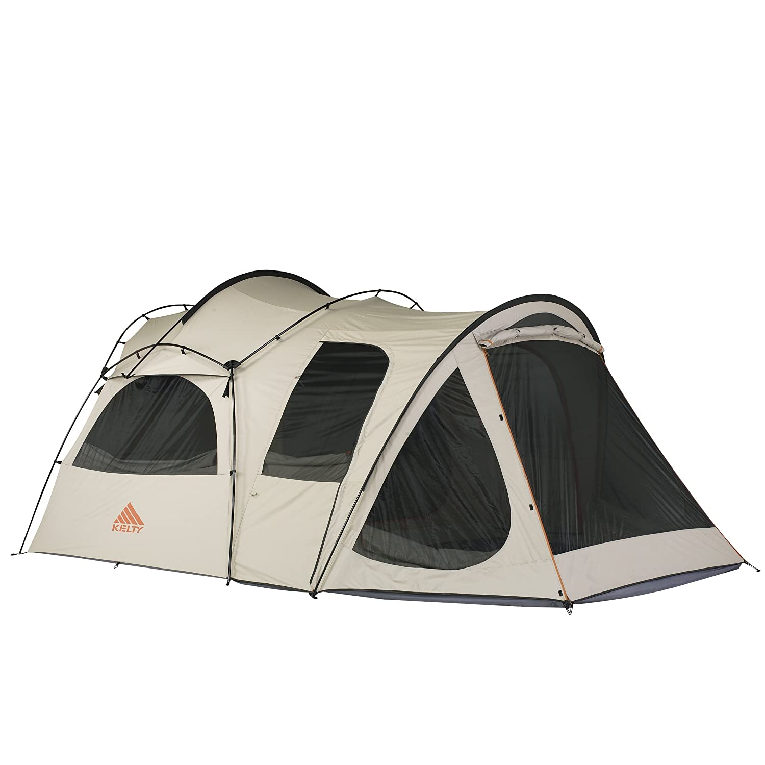 Kelty Frontier 10X10 6 Person Canvas Tent - Putty Amazon.co.uk Sports u0026 Outdoors  sc 1 st  Amazon UK & Kelty Frontier 10X10 6 Person Canvas Tent - Putty: Amazon.co.uk ...