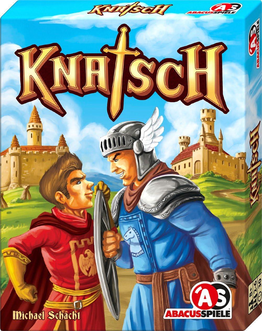 ABACUSSPIELE 08153 Knatsch - Juego de Cartas (Puede no Estar en español): Schacht, Michael: Amazon.es: Juguetes y juegos