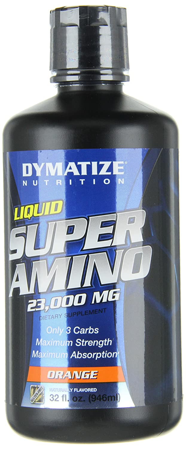 Amazon.com: Dymatize Nutrition Liquid Super Amino, Orange, 32 Fl oz: Health & Personal Care