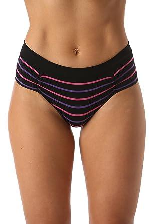 b90b5405be21 Just Intimates Seamless Bikini Underwear with Ruched Detailing ...
