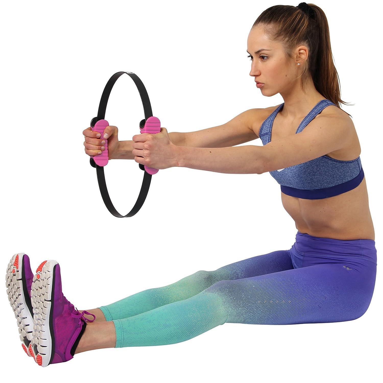 POWRX Pilates ring DELUXE Nero