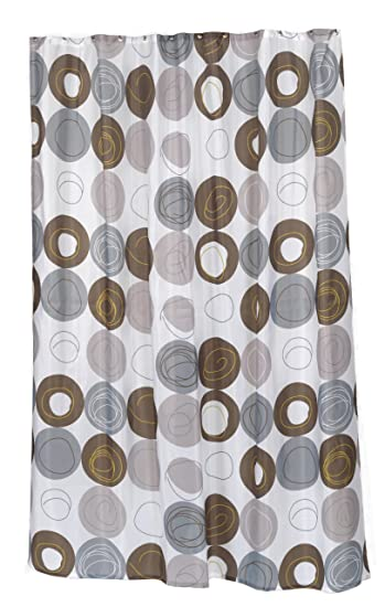 Amazon Carnation Home Fashions 100 Percent Polyester Fabric Print 70 By 84 Inch Shower Curtain X Long Madison Multi Earthtone Colors Kitchen