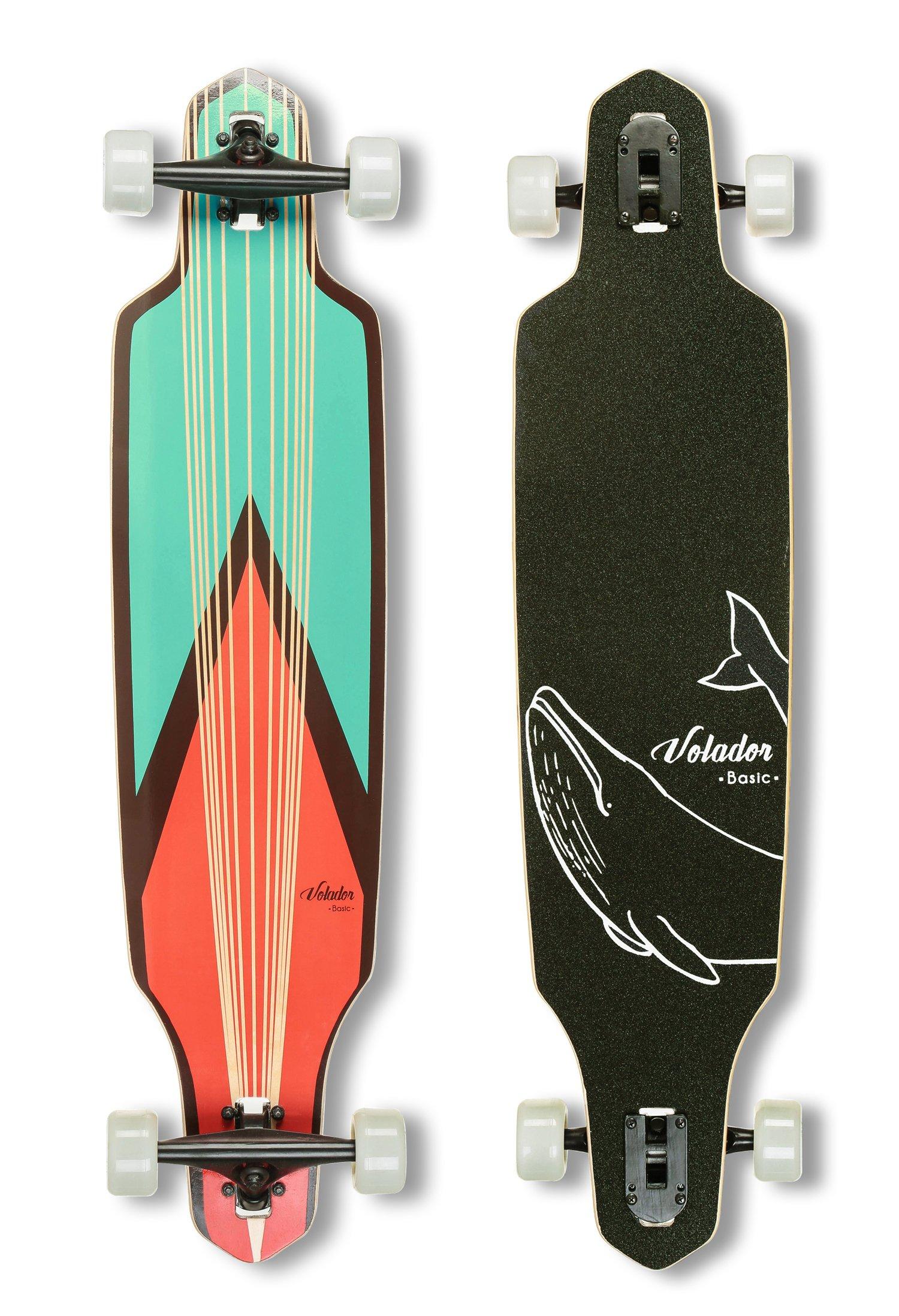 VOLADOR 40inch Maple Longboard - Basic Cruiser (Sword) ...