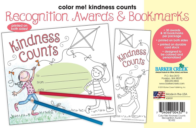 - Amazon.com : Barker Creek Color Me! Kindness Counts Awards